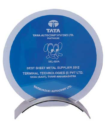 Best Supplier Award 2012