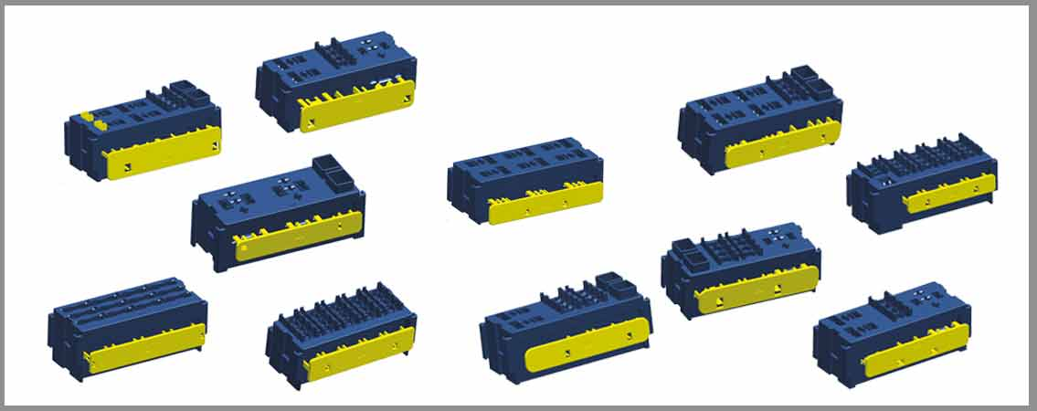MODULAR FUSE AND RELAY ASSEMBLIES